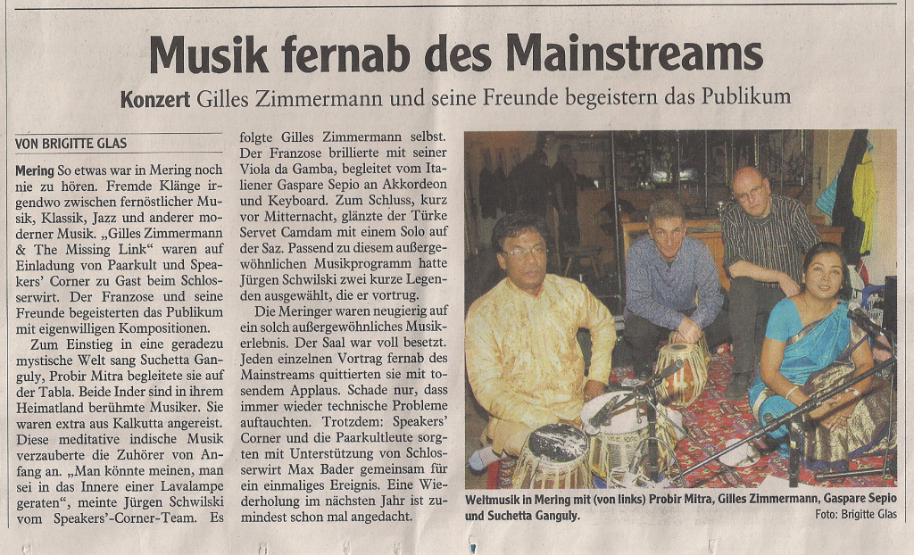 Artikel Friedberger Allgemeine 05-11-12