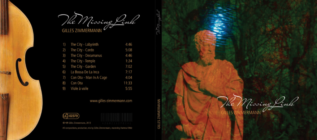 The Missing Link CD Cover Front Back RGB